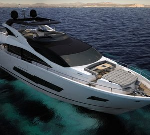Recently launched 'Sunseeker 86 Yacht' motor yacht Hull #1 to be unveiled at PSP Southampton Boat Show 2014