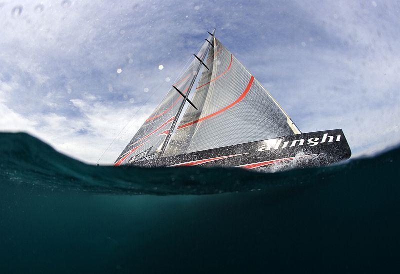 Sailing yacht Alinghi