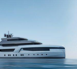 New 49m motor yacht DUBAI 49 concept by Uldas Yacht Design