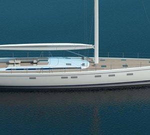 Sale of sailing yacht Swan 115–004 FD announced by Nautor's Swan
