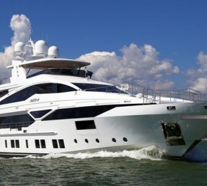 Newly launched Veloce 140 motor yacht by Benetti to make her debut at FLIBS 2014