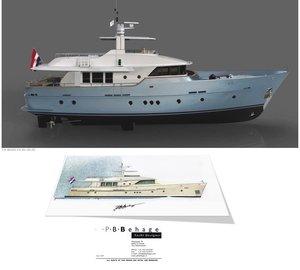 Latest 24.40m Explorer Motor Yacht Concept by P.B. Behage