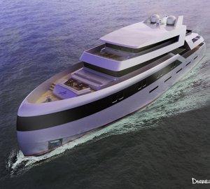 Latest 55m motor yacht VICE VERSA concept by Aeronautiq