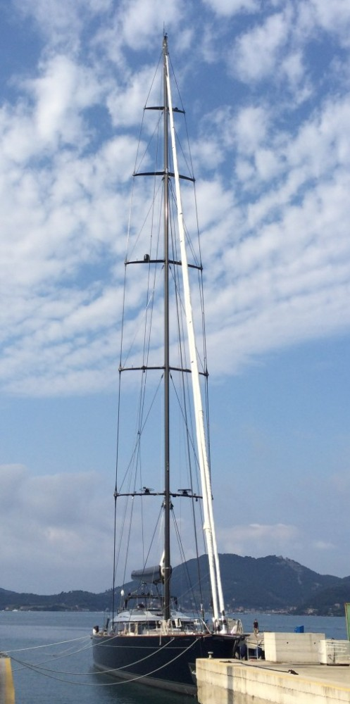 60m Perini Navi Sloop Perseus^3 - Image courtesy of Doyle Sailmakers