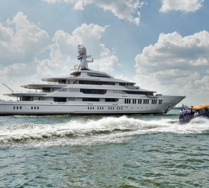 Oceanco announces launch of 88,5m motor yacht Y710