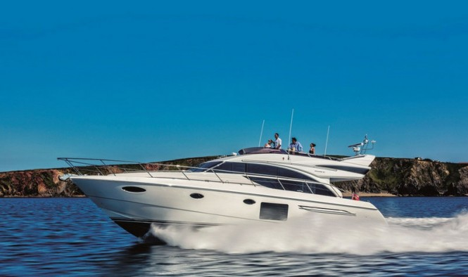Luxury yacht Princess 60