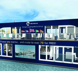 MDL Marinas at upcoming PSP Southampton Boat Show 2014
