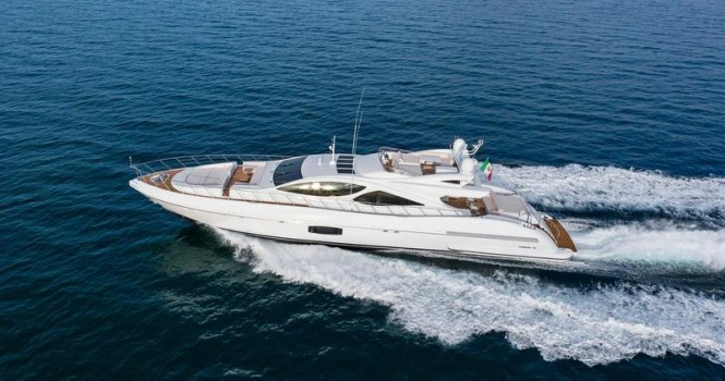 Mangusta 110 Yacht to make her official debut in Europe during the 2014 Cannes Yachting Festival