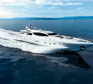 The new propulsion system on ninth Mangusta 165 motor yacht PUMPKIN by Overmarine Group