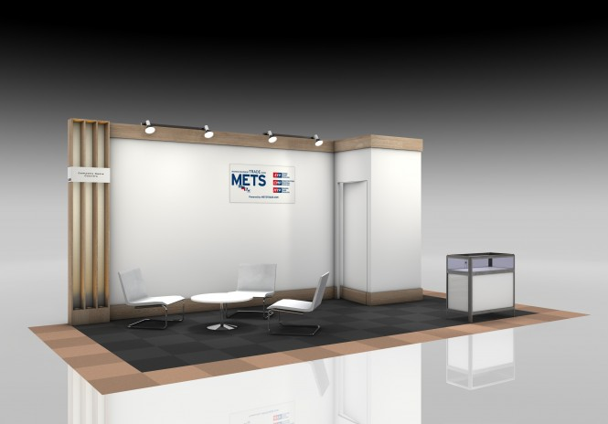 New look for the SuperYacht Pavilion at METS 2014