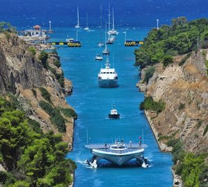 PlanetSolar arrives in Athens as part of 'TerraSubmersa' scientific expedition