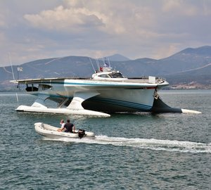 PlanetSolar concludes her TerraSubmersa expedition and leaves for Venice, Italy