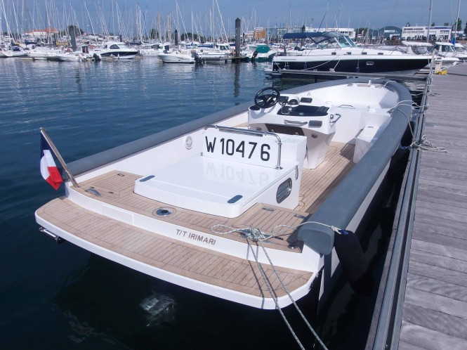 TS85 Open tender by Tender Shipyard for superyacht IRIMARI by Sunrise Yachts