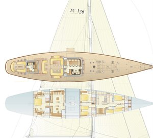 Lewmar working on deck equipment for 126' Hoek classic yacht and sailing yacht J8