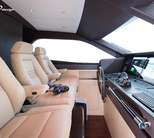 New 27m motor yacht THE NEXT EPISODE by Wim van der Valk and Guido de Groot