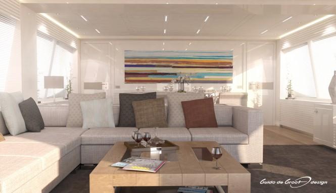 32m Mengi Yay superyacht 'Y' - Interior