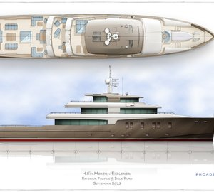 45m Rhoades Young Explorer Yacht Concept