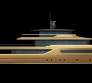 New 46m Explorer Motor Yacht Concept by Dixon Yacht Designs unveiled at MYS 2014