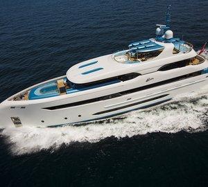 Bilgin 147 motor yacht ELADA now enjoying the sea