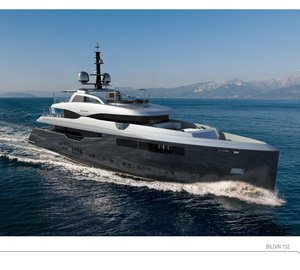 46.8m Motor Yacht BILGIN 152 under construction at Bilgin Yachts