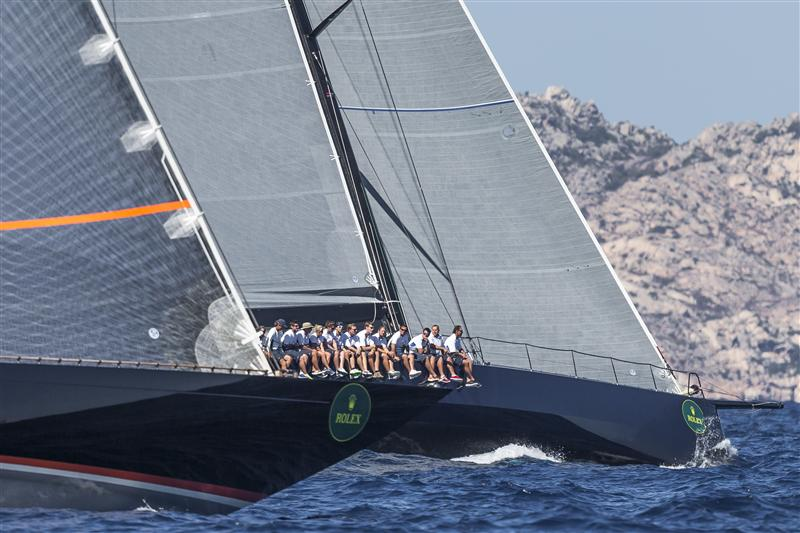 FIREFLY (NED) and HIGHLAND FLING (MON) at the start - Photo by Rolex Carlo Borlenghi
