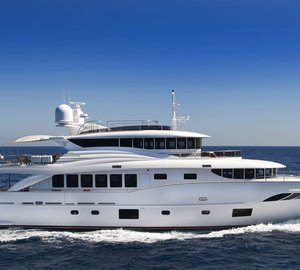 World premiere of Filippetti Navetta 30 motor yacht GATSBY at Cannes Yachting Festival 2014