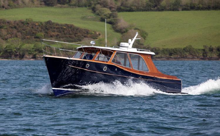 Impulsive superyacht tender by Cockwells