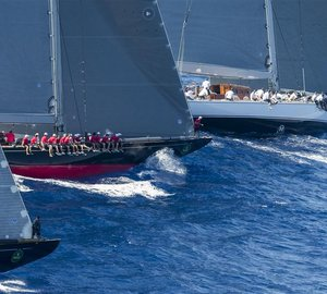 Maxi Yacht Rolex Cup 2014: Day 1