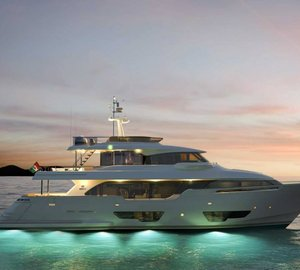 Three world debuts by Ferretti Group at Cannes Yachting Festival