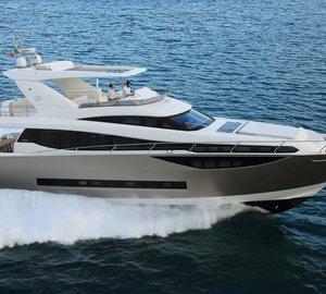 Motor yacht Prestige 750 to be showcased at Yacht CN 2014 – Nansha Bay International Boat Show