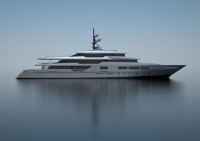 Luxury motor yacht S701 by Tankoa Yachts