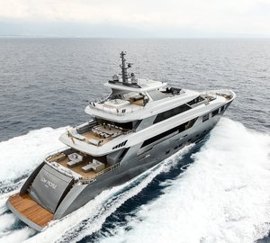 Tecnomar Nadara 40 Motor Yacht LOW PROFILE delivered
