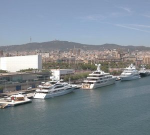 Marina Port Vell announces support of Monaco Yacht Show 2014 Captains & Crew Lounge
