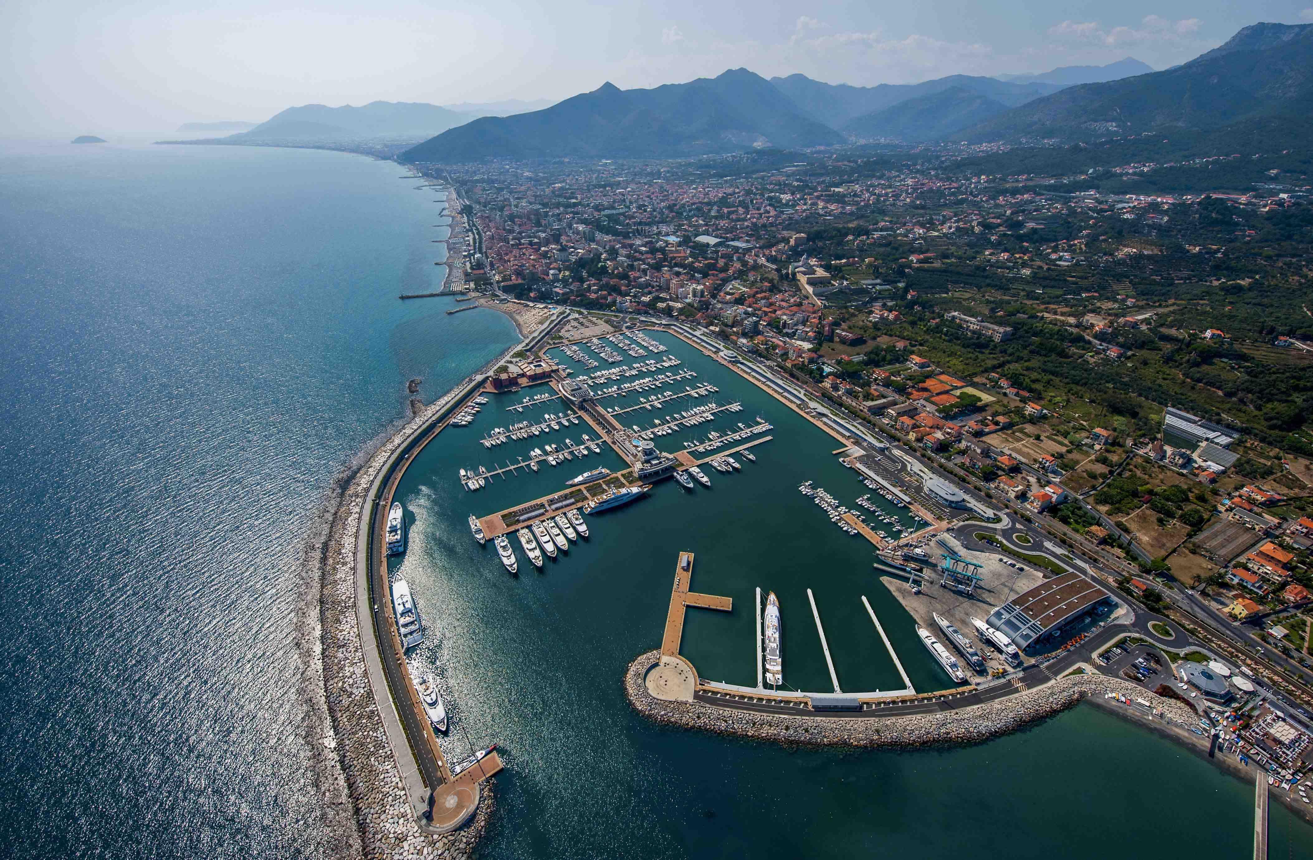 Marina di Loano's New Superyacht Area — Yacht Charter