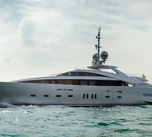 ISA 140 Luxury Yacht SILVER WIND completed