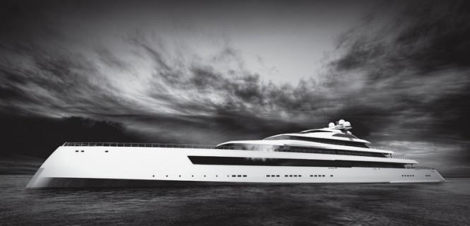 New 115m mega yacht Estatement concept by Pride Mega Yachts