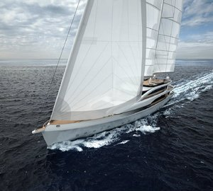 Mondo Marine presents preview of new 45m motorsailer yacht SM45 PROJECT AMERIGO