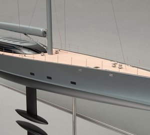 New 58m sailing yacht BEAST officially unveiled by Royal Huisman and Dubois at MYS 2014