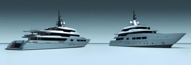 New Tankoa mega yacht S701