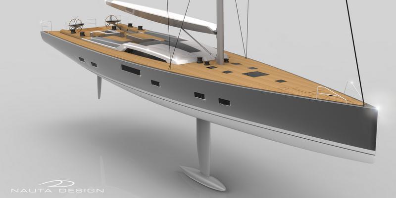 New sailing yacht JVNB 115 by Nauta Design and Judel-Vroljik