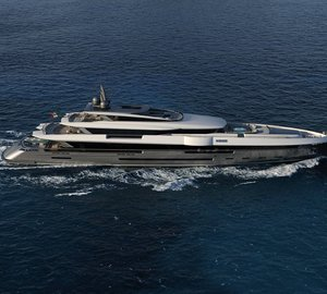 Mondo Marine presents preview of new 57m motor yacht M57 EIDOS project