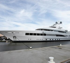 Newly launched ROCK.IT Yacht by Feadship