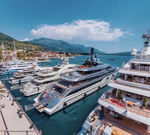 The Superyacht Rendezvous Montenegro 2015, July 2 - 5