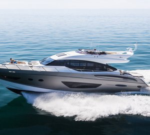 Impressive display of Princess Yachts at upcoming Cannes Yachting Festival