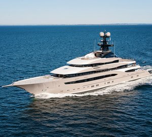 95m Mega Yacht KISMET (Project Global) finishes sea trials