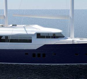New 26m motor sailer yacht ELENA by Ava Yachts