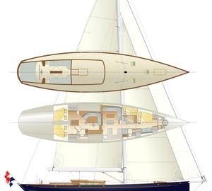 Claasen Shipyards begins construction of 77ft Pilot Classic yacht