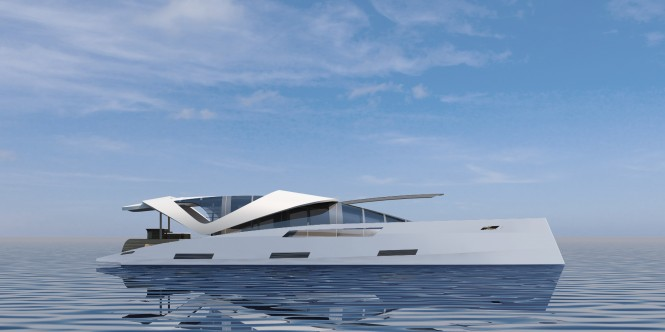 Superyacht AIR 99 by Oxygene Yachts - Profile