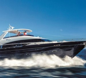 Princess Yachts' exciting line-up of yachts at PSP Southampton Boat Show