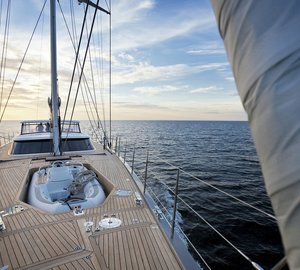 Photos: New Nautor's Swan sailing yacht Swan 105 RS